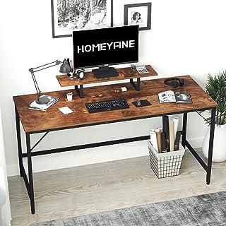 scrivania da studio multifunzionale per computer con armadietto a 3 ripiani e vassoio per tastiera 91 x 40 x 76 cm robusta scrivania in MDF Scrivania per postazione di lavoro per computer da ufficio