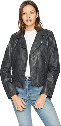 Wrecking Ball Novelty Vegan Leather Jacket
