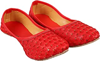 GrayWolf Jaipuri/Rajasthani Women's & Girl's Ethnic Fashionable Juti, Sandals