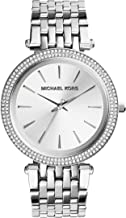 Michael Kors Darci 3 Hand Watch with Glitz Accents, 39MM