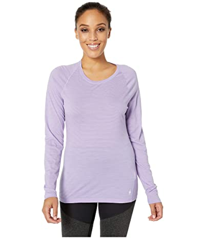 Smartwool Merino 150 Baselayer Pattern Long Sleeve (Cascade Purple) Women