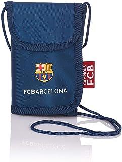 FCB FC Barcelona Taglia Unica Blu//Rosso Portafogli Unisex