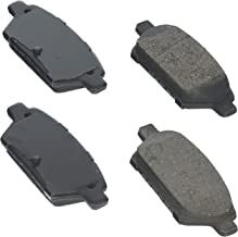 Bosch BE1161H Blue Disc Brake Pad Set with Hardware for Select Ford Fusion; Lincoln MKZ, Zephyr; Mazda 6; Mercury Milan - REAR