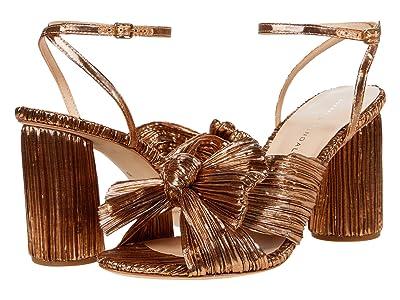 Loeffler Randall Camellia Knot Mule (Dark Rose Gold) Women