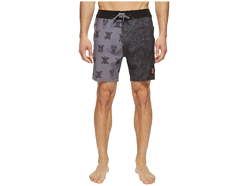 Globe Evil Paradise Boardshorts (Coal) Men