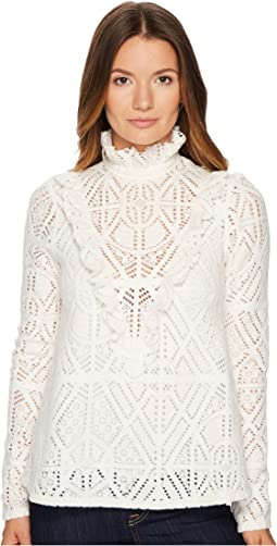 See by Chloe - Lacey Jersey Long Sleeve Top
