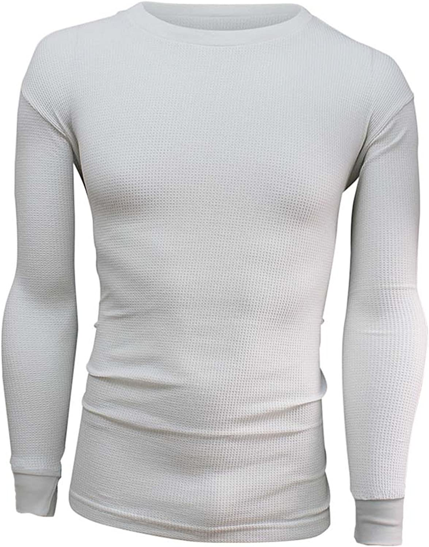 Men's Thermal Long Sleeve Crew Neck Top