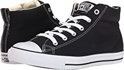 5adc6f3542d Converse kids chuck taylor all star street leather and fleece mid ...