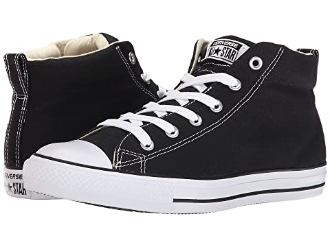 27c8b0b33d5a Converse Chuck Taylor® All Star® Street Core Canvas Mid at Zappos.com
