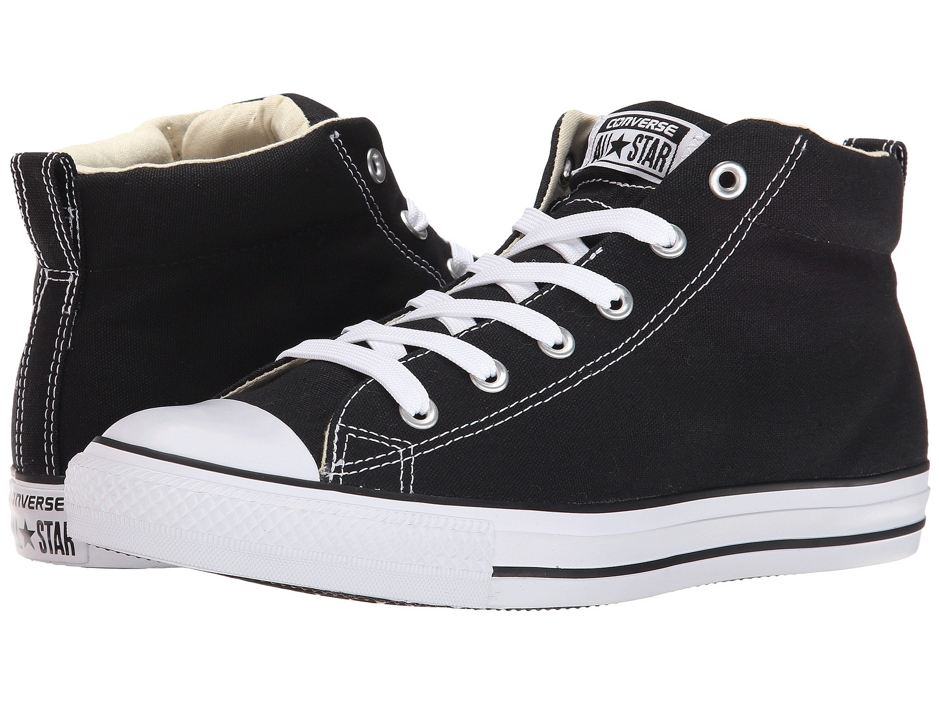 converse mid tops. view more like this converse - chuck taylor® all star® street core canvas mid tops t