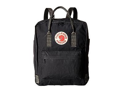 Fjallraven Kanken (Black/Striped) Backpack Bags