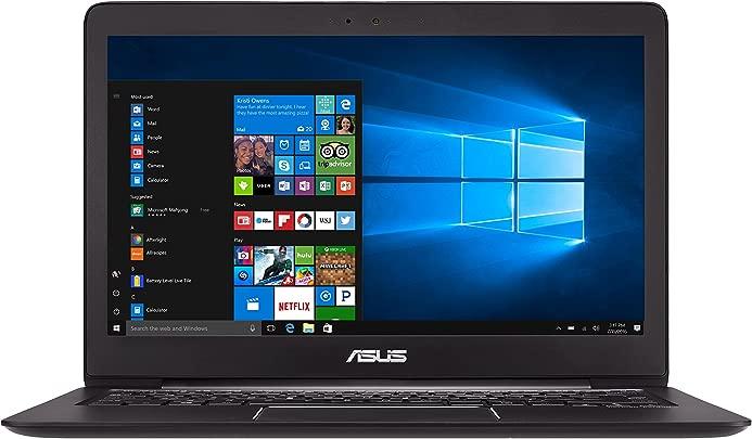 Asus Zenbook UX330UA-FC080T 33 7 cm  13 3 Zoll mattes FHD  Laptop  Intel Core i7-7500U  16GB RAM  512GB SSD  Intel HD Graphics  Win 10  schwarz