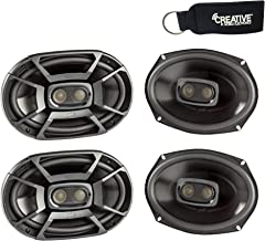 Polk Audio - Two Pairs of DB692 6x9 Coaxial Speakers - Marine and Powersports Certification