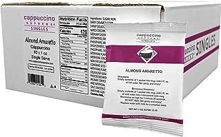 Cappuccino Supreme Almond Amaretto Cappuccino Mix, single serve pouches