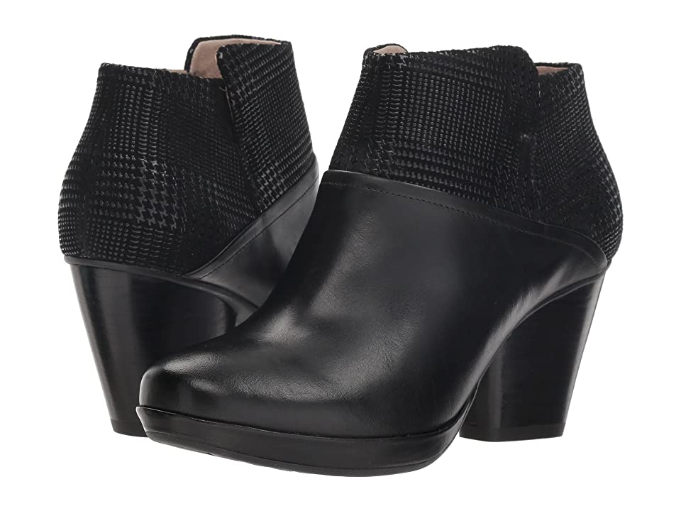 Dansko Miley (Black Burnished Calf) Women