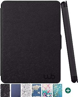 Capa Novo Kindle Paperwhite 10ª Geração WB® Ultra Leve Auto Hibernação Fecho Magnético Preta