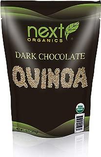 Next Organics Dark Chocolate Quinoa, 16 oz Bag (Pack of 3)
