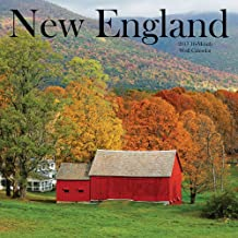 2017 Monthly Wall Calendar - New England