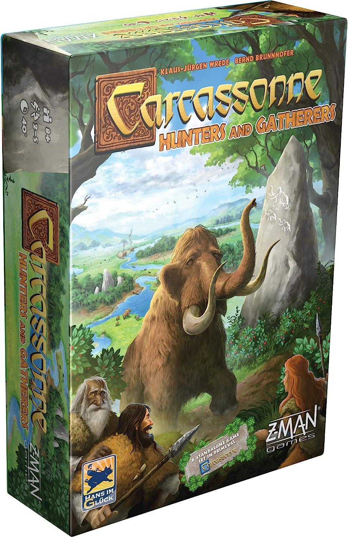 Asmodee Z-Man Games | Juego de Mesa Carcassonne Hunters & Recolectores | Edades 8 en adelante | 2-5 Jugadores