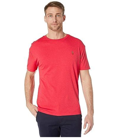 Polo Ralph Lauren Classic Fit Soft Touch T-Shirt (Rosette Heather) Men