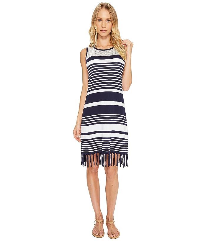 b5e14298b3636 Tommy Bahama Stripe Fringe Sweater Dress Cover-Up at 6pm