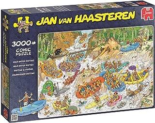 JUMBO Jan Van Haasteren Wild Water Rafting Jigsaw Puzzle (3000 Piece)