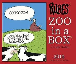 Zoo in a Box 2018 Calendar