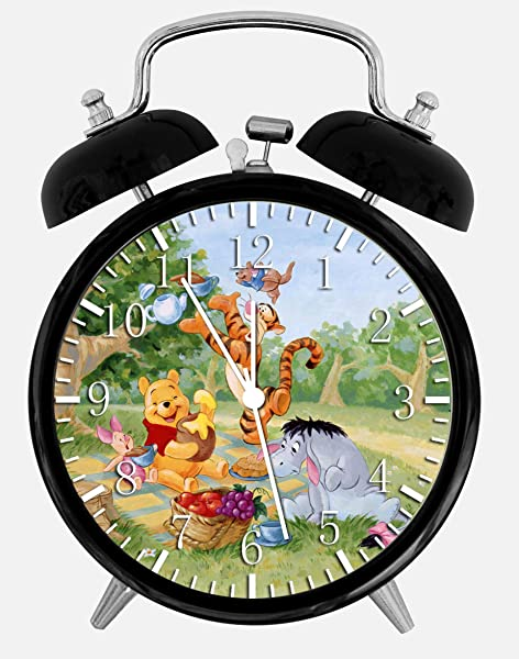 Ikea New Winnie The Pooh Alarm Desk Clock 3 75 Room Decor Y28 Will Be A Nice Gift