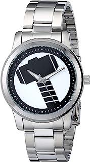 ساعة مارفل للرجال W001781 ذا افنجرز ثور انالوج كوارتز - فضي