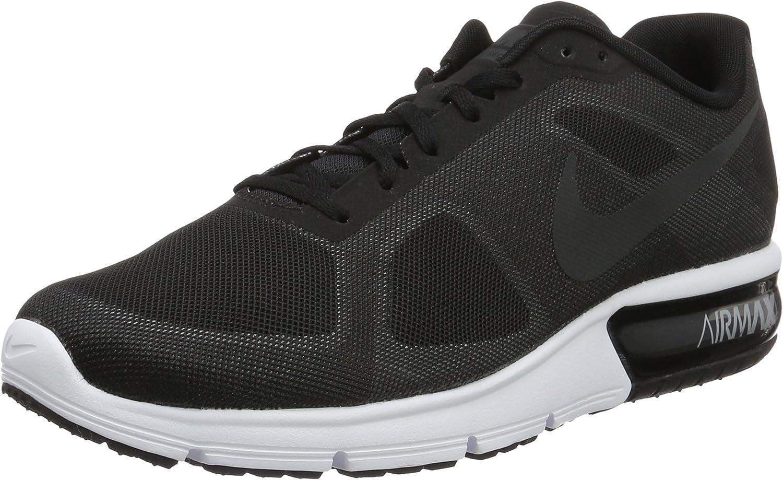 Nike Herren Air Max Sequent Laufschuhe, schwarz B010NA6U7I  | Qualität zuerst