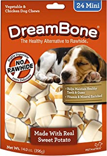 Dreambones Dreambone Sweet Potato Dog Chew (24 Piece/Pack), Mini