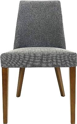Shack Hamilton Dining Chair with Honey Leg, Granite