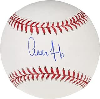 judge autographed baseball