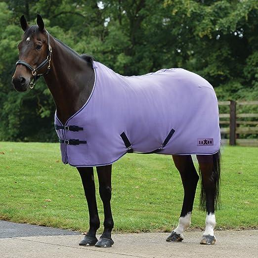 Purple Navy All Sizes Saxon Element Fleece Saddlery Head Collar