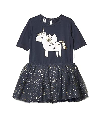 HUXBABY Unicorn Ballet Dress (Toddler) (Ink) Girl