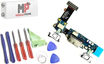 MobilePrime Charging Port Replacement Kit Compatible for Samsung Galaxy S5 (G900P) Including Repair Tools