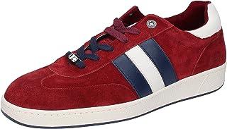 D'Acquasparta Sneaker Uomo Pelle Scamosciata Rosso