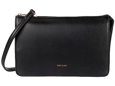 Matt & Nat Tori Loom (Black/Rose Gold) Cross Body Handbags