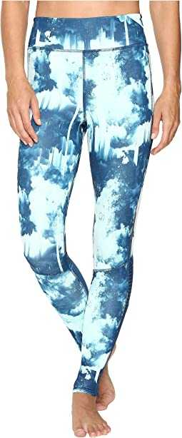 Supernova Long Tights - Northern Lights Print