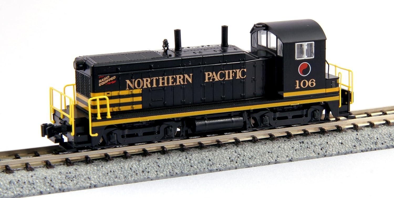 Kato 701764372 - EMD NW2 Northern Pacific 106 Modelleisenbahn