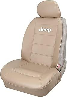 Plasticolor 008581R06 Jeep Elite Tan Sideless Seat Cover