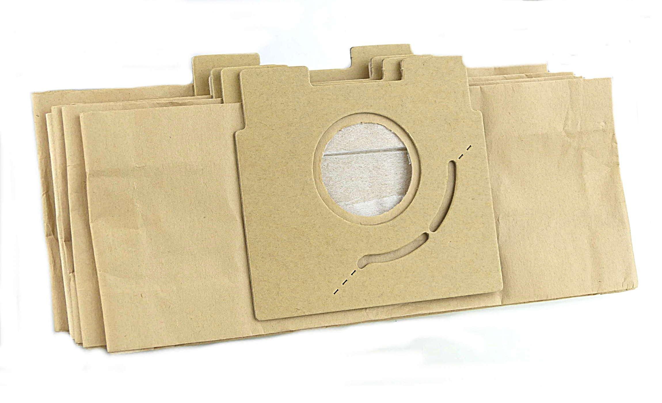 10 bolsas para aspirador Panasonic para modelos: MCE601, MCE602 ...