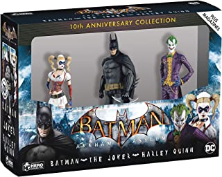 Eaglemoss Batman: Arkham Asylum 10th Anniversary Collection: Figurine Box Set