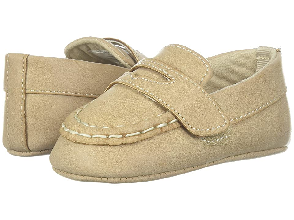Baby Deer Soft Sole Loafer (Infant) (Tan) Boy