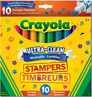 Crayola Ultra Clean Washable Stampers Markers Arts & Crafts