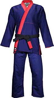 adidas Stars and Stripes Limited Edition Pearl Weave Gi - Navy/Red
