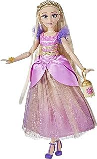 Disney Princess Style-serie 10 Rapunzel, modepop met moderne outfit, kleding en accessoires, verzamelspeelgoed voor meisje...