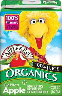 Apple & Eve Sesame Street Organics, Big Bird's Apple 4.23 Fluid-oz., 36 Count