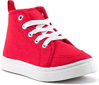 ZOOGS Girls and Boys High Top Sneakers, Kids Basketball Shoes for Toddlers
