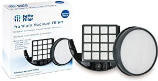Fette Filter - Upright Vacuum Filter Kit Compatible with Hoover WindTunnel 3 Pro Pet. Compare to Part # 303903001 & 305687002. Combo Pack